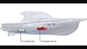 Barco de hidrógeno de Yanmar.