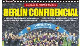 La portada del diario Mundo Deportivo (06/06/2020)