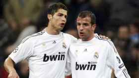 Cristiano Ronaldo y Van der Vaart