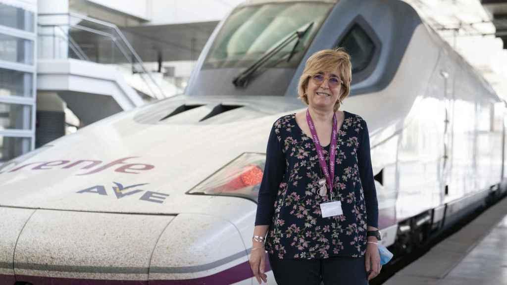 El modelo con forma de pato es uno de los más briosos para conducir, según Teresa Rey.