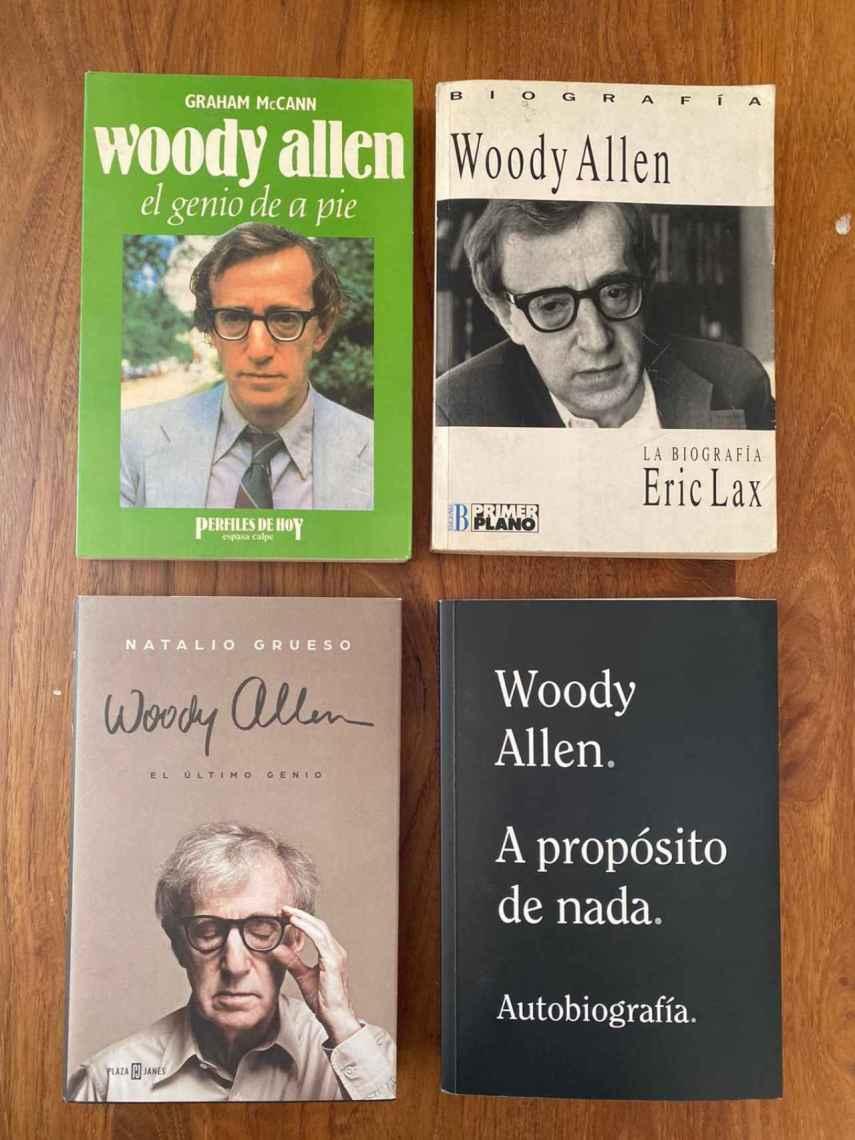 Allen a cuatro manos, tres biografías, y la suya.