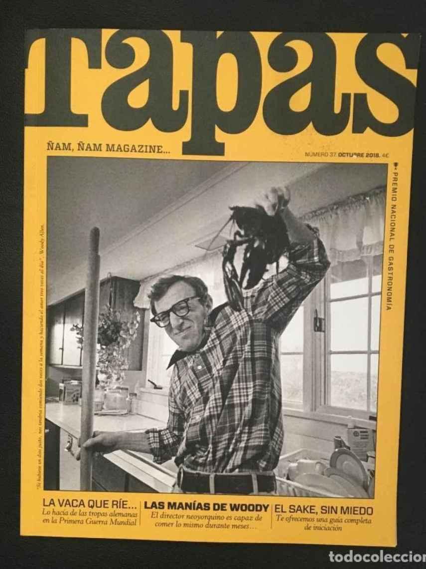 Una vieja portada de TAPAS, de segunda mano por 6 euros.