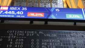 La Bolsa de Madrid. Imagen de archivo. / Efe