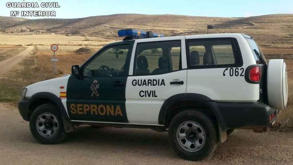 Vehículo del Servicio de Protección de la Naturaleza (Seprona).