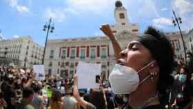 Concentración contra el racismo en Madrid.