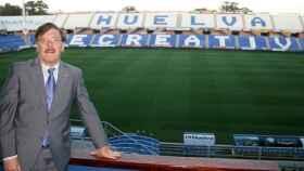 Francisco Mendoza, presidente del Recreativo de Huelva