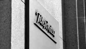 Logo de Telefónica, en una imagen de archivo.