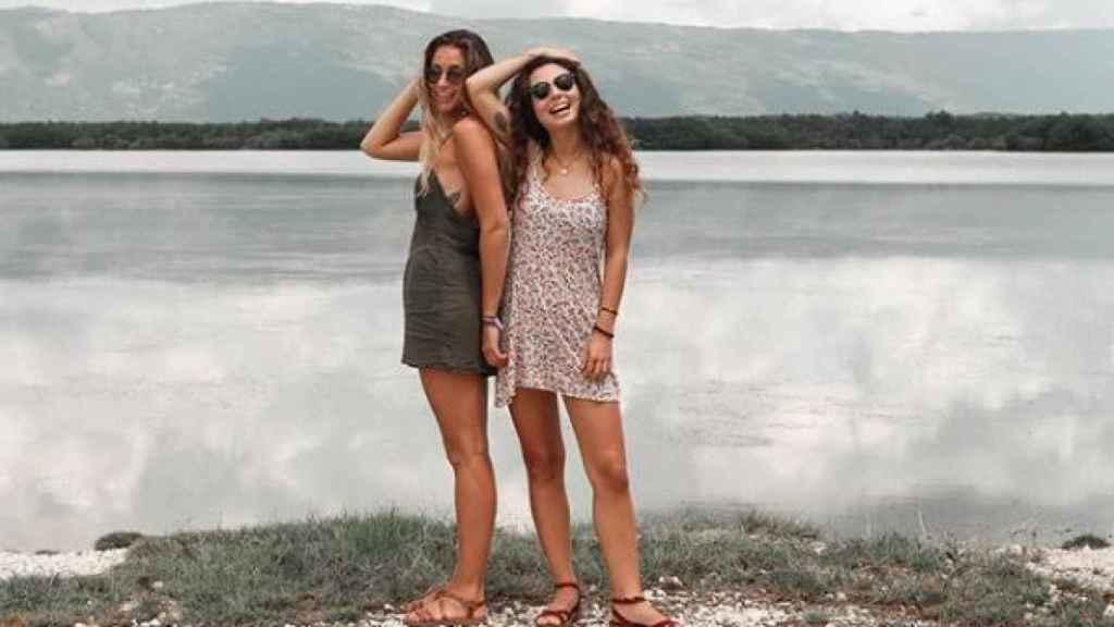Agripina y su amiga María han puesto en marcha un proyecto sobre yoga y poesía.