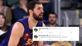 Nikola Mirotic y sus mensajes en las redes sociales sobre el positivo de Francis Alonso