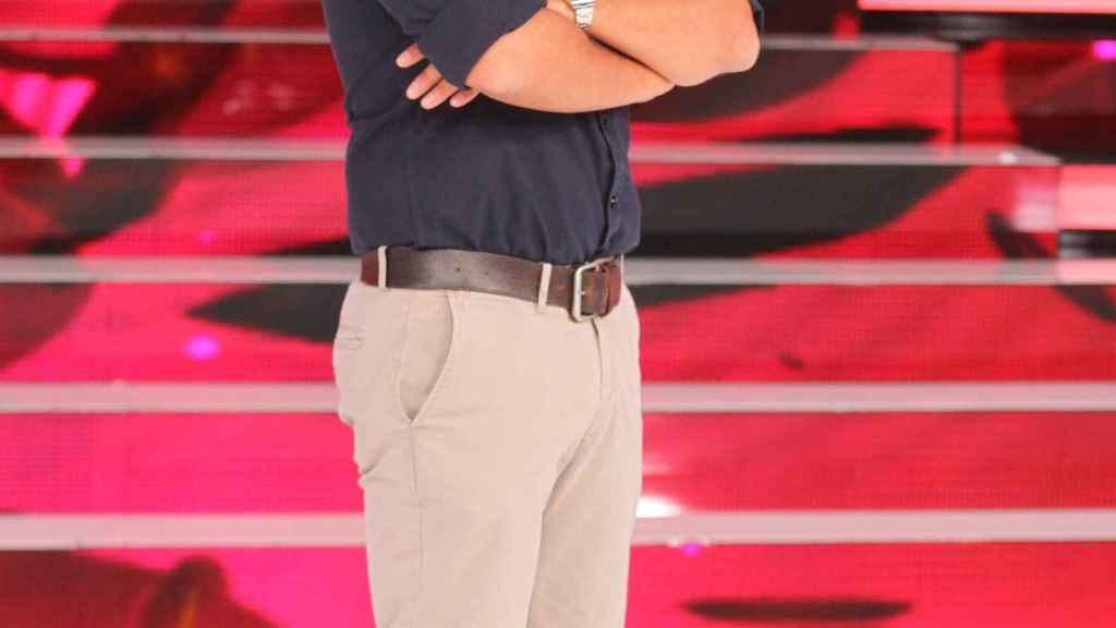 El catalán debutó en TVE como profesor de 'Operación Triunfo'.