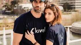 Jordi Mestre con camiseta de su marca, Kiwel Clothing.