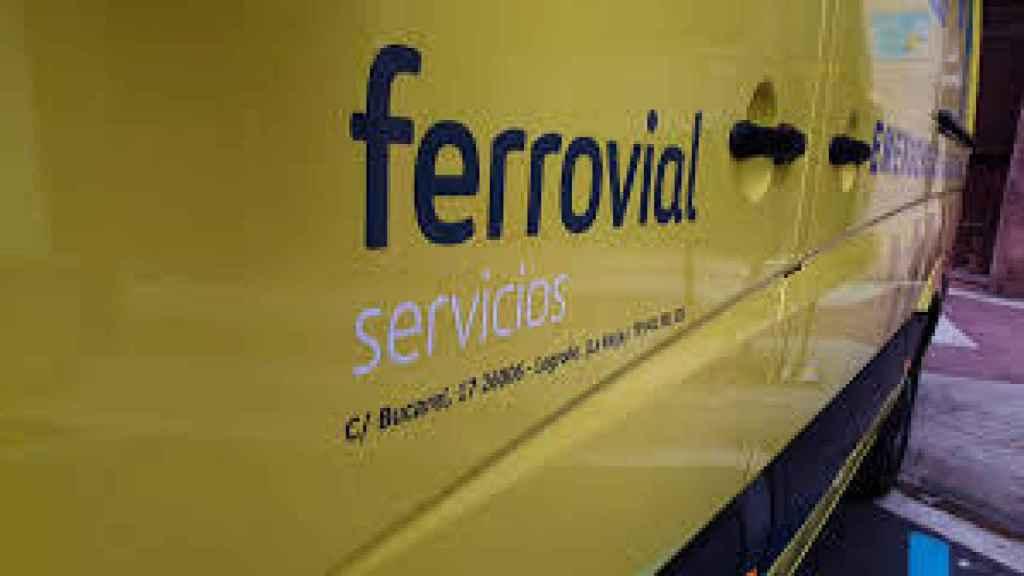 Una ambulancia de Ferrovial en una imagen de archivo.