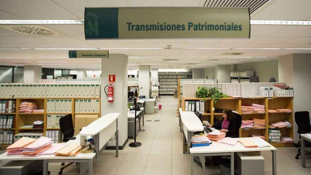 Una de las oficinas de la Agencia Tributaria.