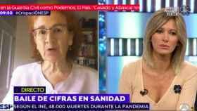 Un momento de la entrevista a Del Val en el programa de Atresmedia.