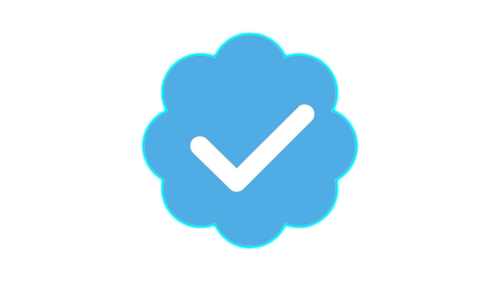 Logo de verificación de Twitter.