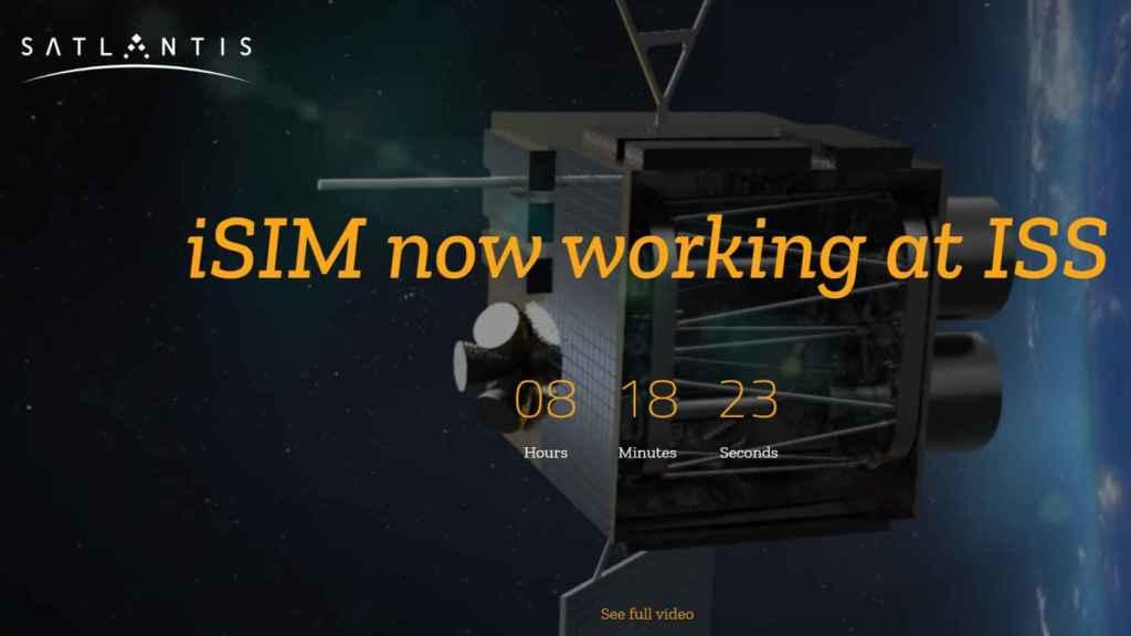 Cuenta atrás de la iSM