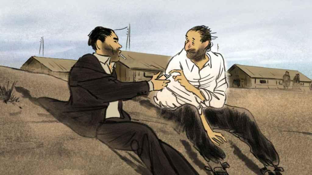 Imagen de la película de Josep Bartolí.