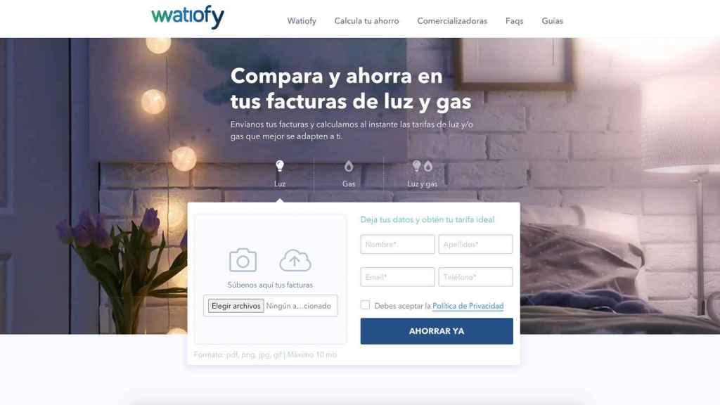 Web de Watiofy.