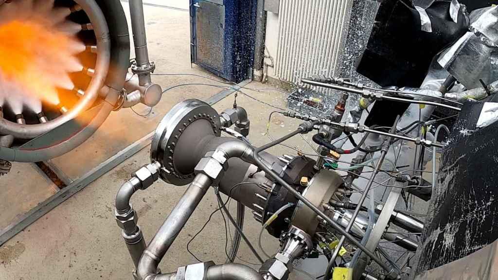 Cámara de empuje impresa en 3D