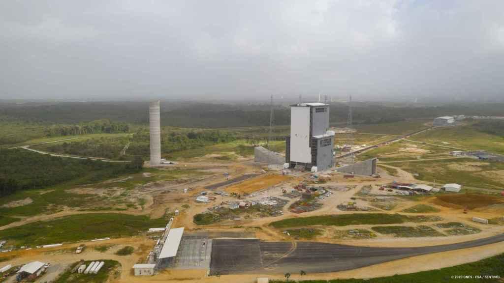 Puerto Espacial Europeo en la Guyana francesa
