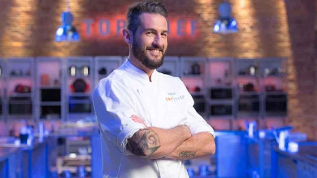 Javier García Peña participó en la segunda edición de 'Top Chef'.