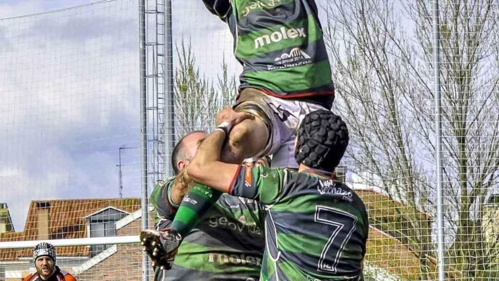 Peña es un gran amante del rugby.