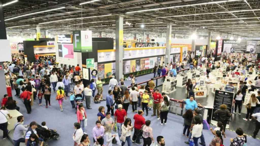 Feria Internacional del Libro de Guadalajara.