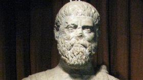 Estatua del emperador Pertinax.