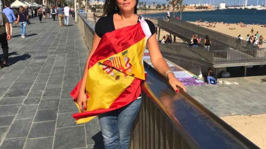 La concejala de Vox en Galapagar Cristina Gómez Carvajal.