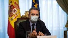 El delegado del Gobierno en Madrid, José Manuel Franco./