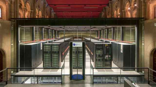El superordenador Marenostrum 4 en el Barcelona Supercomputing Center - Centro Nacional de Supercomputación.