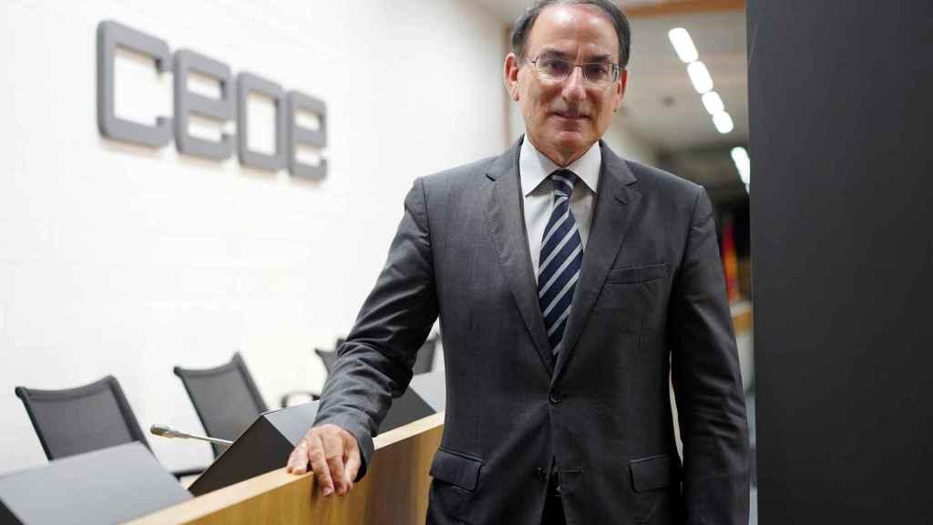 El presidente de la Confederación de Empresarios de Andalucía (CEA), Javier González de Lara