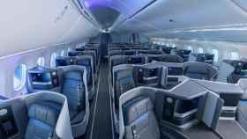 Clase 'business' de Air Europa en una imagen de archivo.