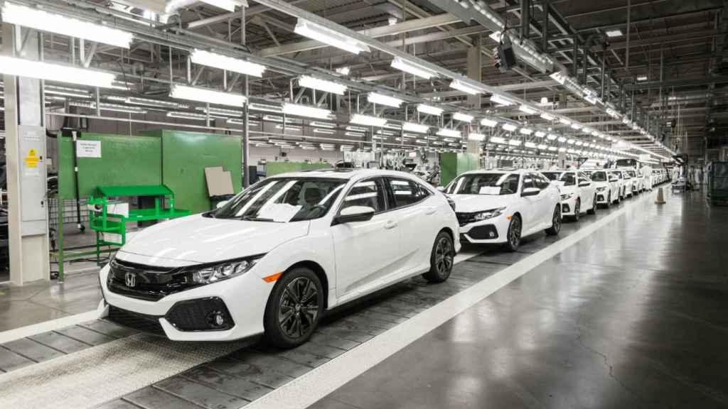 Factoría de Honda.