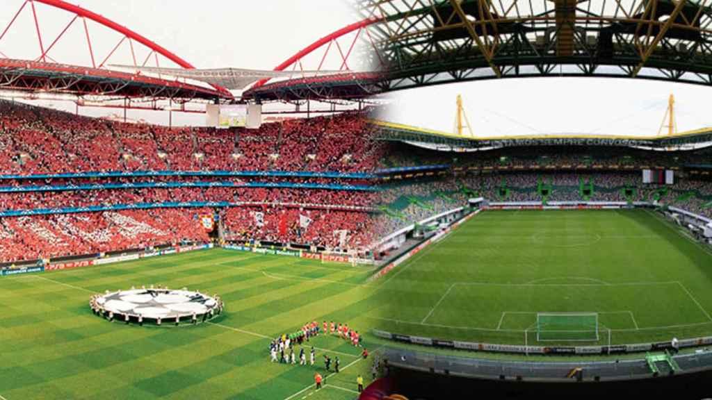 El Estadio Da Luz y el Estadio José Alvarade, las dos bazas de Lisboa para la fase final de la Champions League