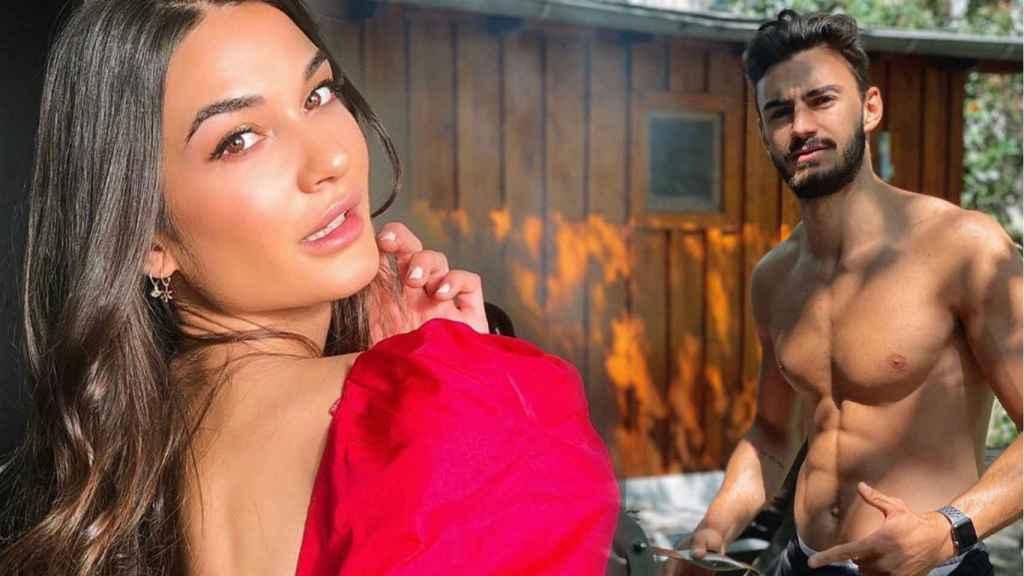 Estela Grande junto a Juan Iglesias, en un montaje de JALEOS.