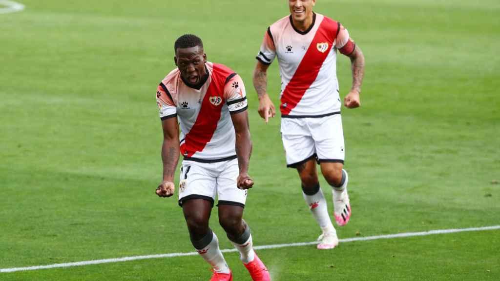 Luis Advincula adelanta al Rayo ante el Albacete con su gol