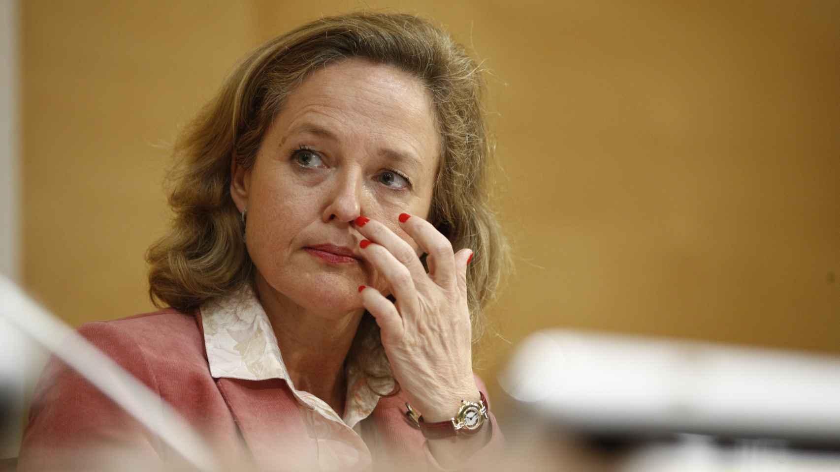 Nadia Calviño, vicepresidenta primera.