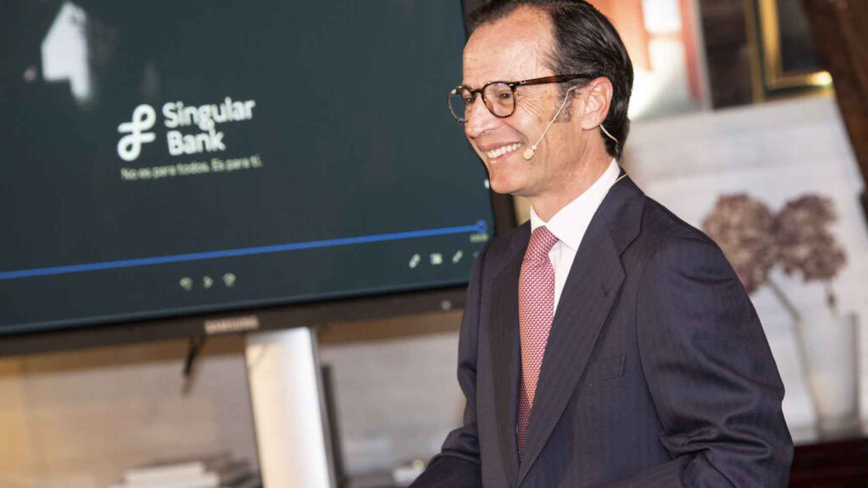 Javier Marin, consejero delegado de Singular Bank.