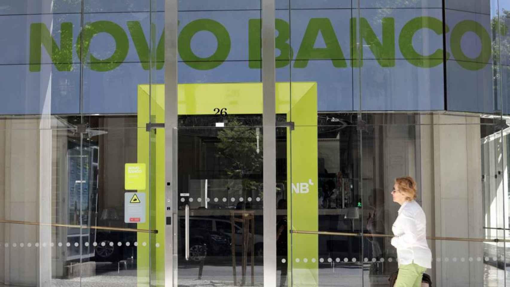 Una sucursal de Novo Banco en una imagen de archivo.