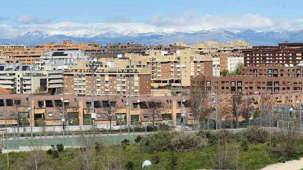 Imagen del barrio de Montecarmelo en Madrid.
