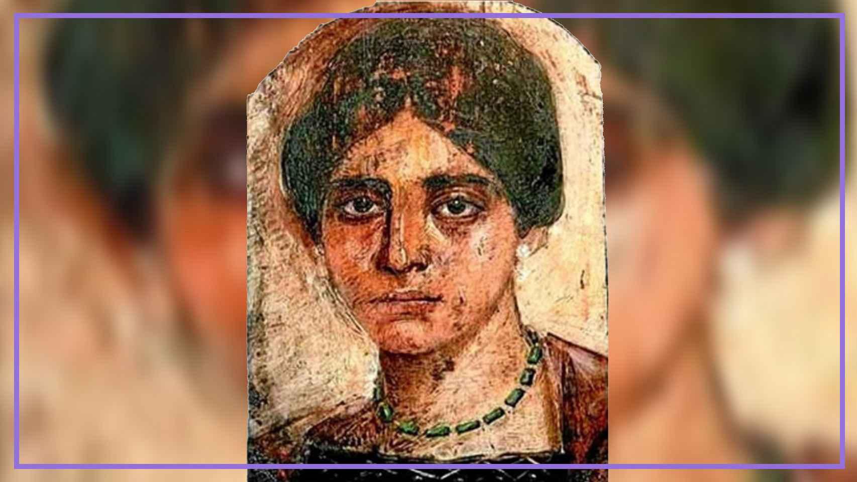 Retrato de la peregrina Egeria.