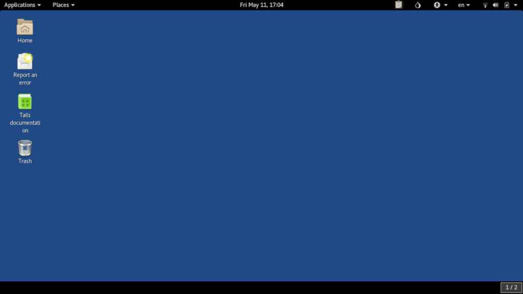 El sistema operativo Tails OS, especializado en proteger la privacidad de los usuarios