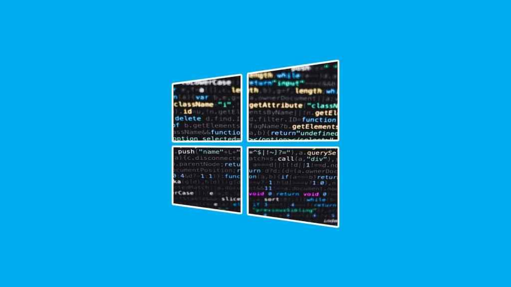 El logo de Windows, hackeado.