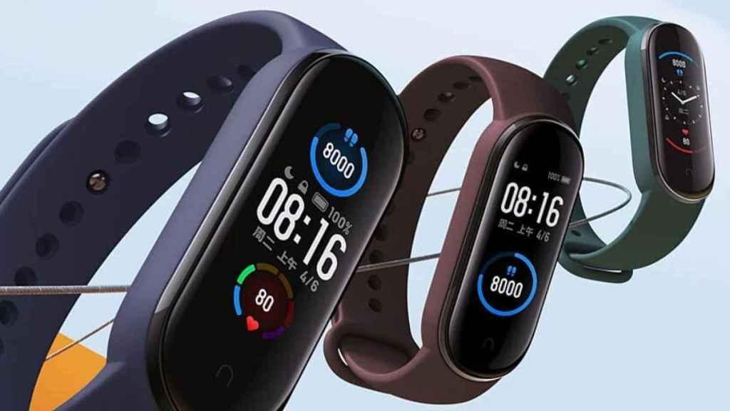 La Xiaomi Mi Band 5 es oficial: más pantalla y mejor diseño para la mejor pulsera deportiva