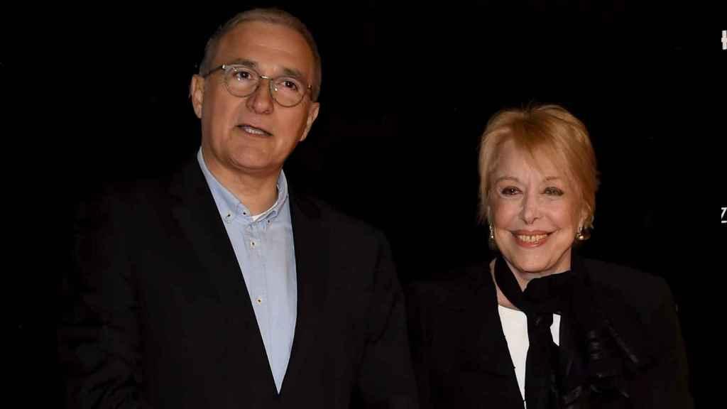 Xavier Sardà y su hermana Rosa.