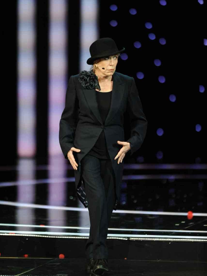 La actriz Rosa María Sardà durante la 25ª gala de los premios Goya.