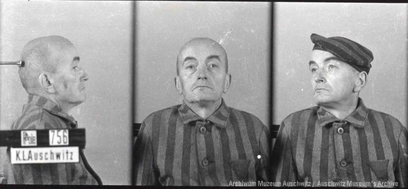 Józef Bałuk, uno de los deportados a Auschwitz en el primer transporte.