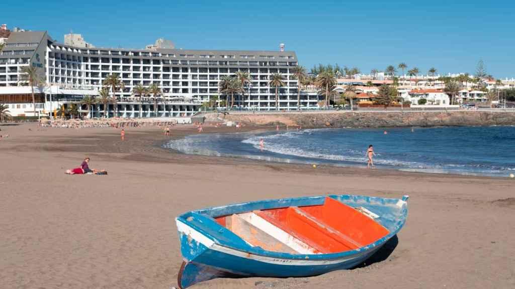 Imagen de una playa de Canarias.