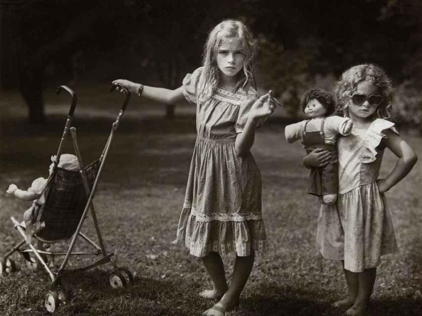Foto de Sally Mann, de la serie Immediate Family.